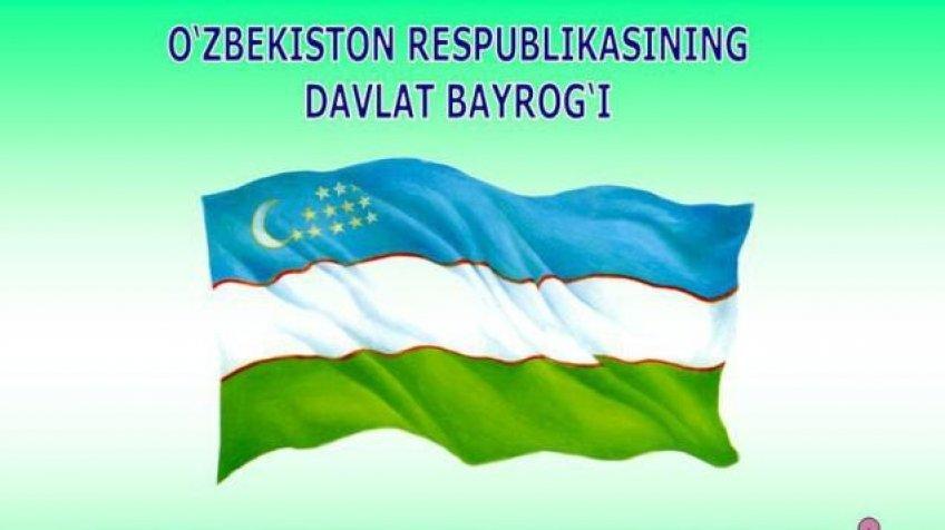 bayroq o'zbekiston